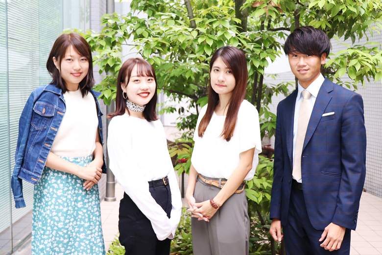 19新卒×20新卒インターン生の初対談!
